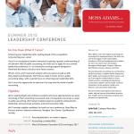 2015 Summer Leadership Conference Flyer-1